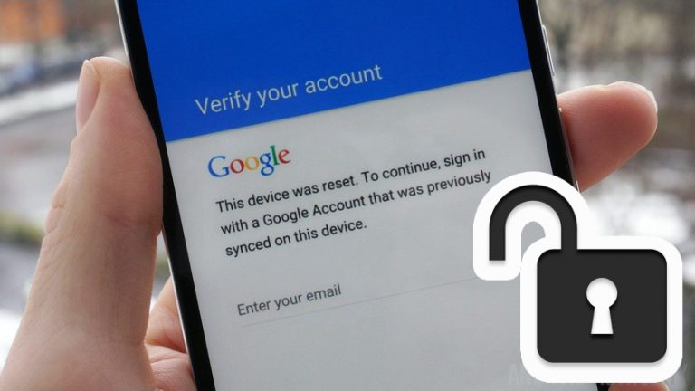 Google FRP Factory Reset Protection Removal (Unlock) Service