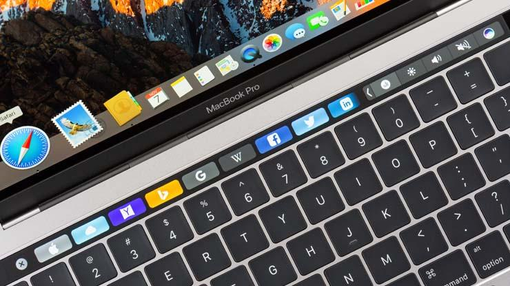 MacBook Pro Touch Bar Explained
