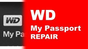 WD my passport data recovery